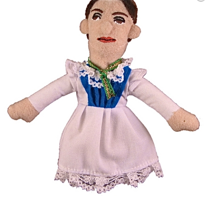 Emily Dickinson Finger Puppet