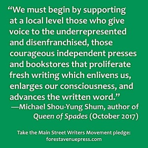 Main Street Writers Movement